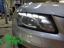 Audi Q5, ремонт запотевания правой фары