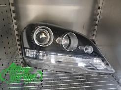 Mercedes ML W164, замена штатных линз на Hella 3R + ремонт фар