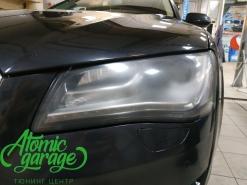 Audi A8 D4, комплексное восстановление фар