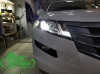 Honda Crosstour, замена линз на Bi-led Optima Adaptive + замена правого стекла фары