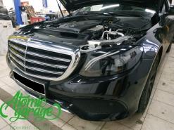 Mercedes W213, ремонт + покраска масок фар