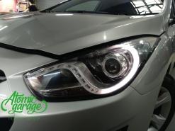 Hyundai I40, ремонт штатных ДХО