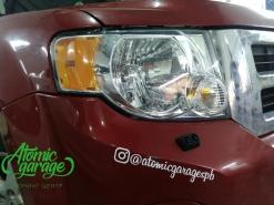 Ford Escape, восстановление стекол фар