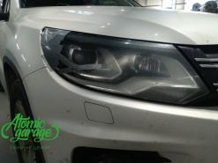 Volkswagen Tiguan рестайлинг, замена правого стекла фары