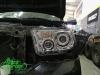 Toyota Tundra GEN2, установка 4-х линз Bi-led