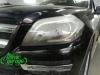 Mercedes GL X166, замена штатных линз на Hella 3R + восстановление левой фары