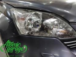 Honda CR-V 3, замена линз на Bi-Led Optima Pro + восстановления стекол