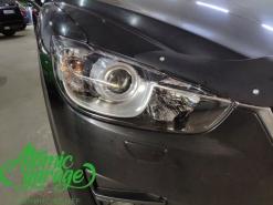 Mazda CX-5 KE, замена линз на Bi-Led Diliht Triled