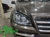 Mercedes GL X164, замена штатных линз на Bi-led Diliht Triled + полировка стекол