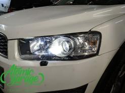 Chevrolet Captiva C140, замена линз на Diliht Triled + омыватель фар Скиф