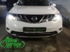 Nissan Murano Z51, замена линз на Hella 3R + восстановление стекол