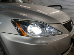 Lexus IS250, замена линз на Bi-Led Diliht Tendel + восстановление стекол