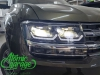 Volkswagen Teramont, установка 4-х линз Bi-led Diliht