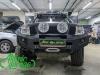Nissan Navara, установка линз Bi-led Diliht Triled + восстановление стекол