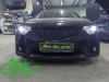 Honda Accord 8 рестайлинг, замена линз на Diliht Triled + покраска масок фар