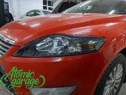 Ford mondeo 4, установка линз Bi-led X-bright + покраска масок фар