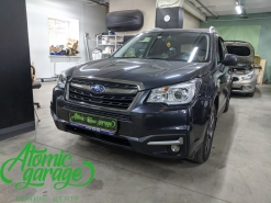 Subaru Forester SJ, установка линз Diliht Triled