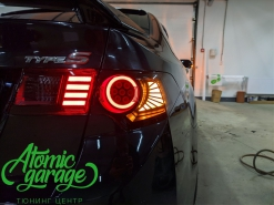 Honda Accord 8, тюнинг задних фонарей