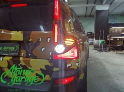 Volvo XC90, светодиодный тюнинг задних фонарей