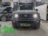 Suzuki Jimny Gen4, установка линз Bi-led Diliht Tendel + ходовые огни