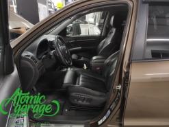 Hyundai Santa FE CM, установка сидений от BMW X5 F15 + линзы Diliht Triled