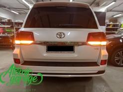 Toyota Land Cruiser 200 2-й рестайлинг, изготовление бегущих поворотников в задних фонарях
