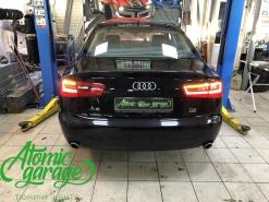 Audi A6 C7, ремонт габарита и поворотника в левом фонаре