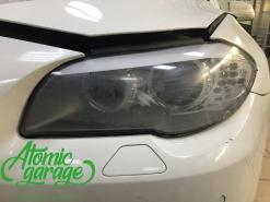 BMW 5 F10, замена стекол фар