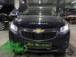 Chevrolet Cruze, замена линз на Bi-led X-bright