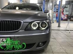 BMW E65, полноценный детейлинг фар