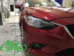 Mazda 6 GJ, замена правого стекла фары + ремонт корпуса