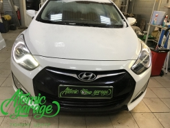 Hyundai I40, ремонт штатного ходового огня