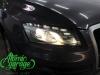 Audi Q5, замена штатных линз на Hella 3R + новые стекла