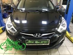 Hyundai I40, ремонт штатных DRL
