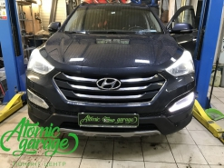 Hyundai Santa Fe III, ремонт штатных DRL