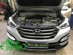 Hyundai Santa Fe III, ремонт плат штатных ходовых огней