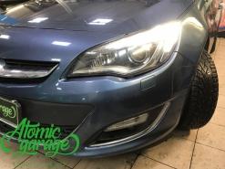 Opel Astra J, ремонт штатного ходового огня левой фары