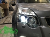 Nissan X-trail T31, замена штатных линз на Hella 3R