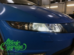 Honda Civic 5d, установка Bi-led линз GTR mini