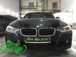BMW 3 F30 Led, замена левого стекла фары на новое