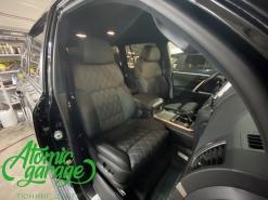 Toyota Land Cruiser 200, замена передних сидений от BMW 7 F01