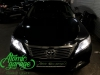Toyota Camry v50, замена штатных линз на Bi-led Diliht Triled