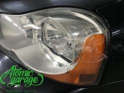 Volvo XC90, замена левого стекла фары