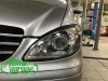 Mercedes Viano W639, установка галогеновых линз Hella R