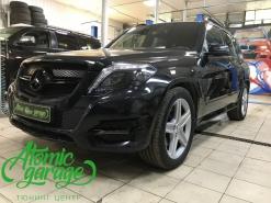 Mercedes GLK, антихром фар и кузова