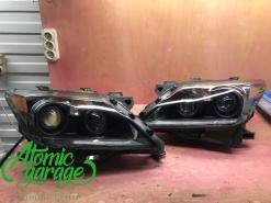 Lexus LX570, покраска масок фар + ремонт