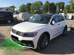 Volkswagen Tiguan, оклейка кузова антигравийной пленкой