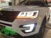 Ford Explorer 5 рестайлинг, линзы Bi-Led Optima Adaptive + бегущие поворотники