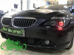 BMW E63, комплекс по детейлингу фар