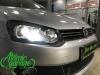 Volkswagen Polo, установка линз Bi-Led Optima Adaptive